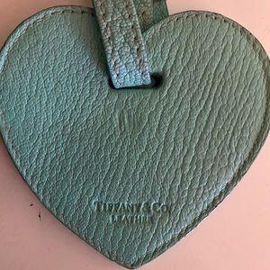 Tiffany & Co Leather Luggage Tag